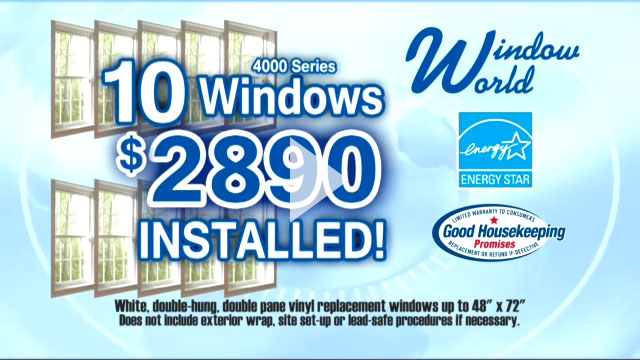 Replacement windows green bay wi tv ads for 189 window replacement