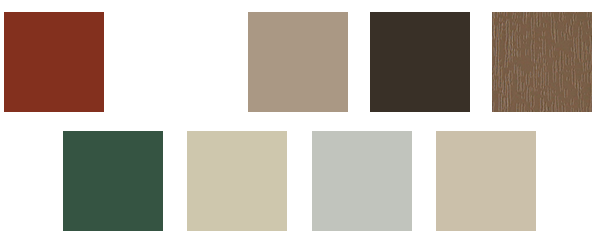 replacement window color collections from window world of green bay